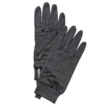 Hestra Glove Liners Merino Wool Active Grey for Ski and Snowboard Gloves and Mitts