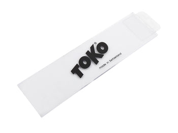 Toko Professional 4mm Plexi Wax Scraper 230mm Wide for Freeride Skis and Snowboards