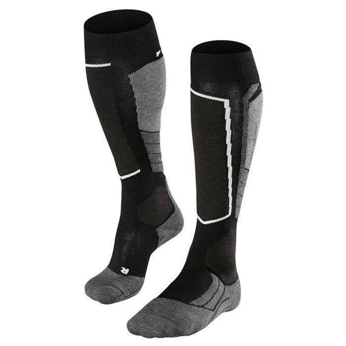 Falke SK2 Mens Ski Socks in Black