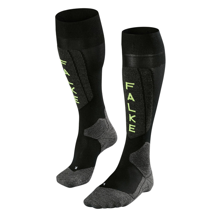 Falke SK5 Mens Ski Socks in Black