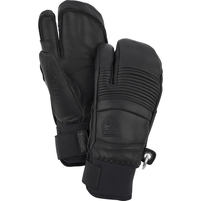Hestra Leather Fall Line Unisex Ski and Snowboard 3 Finger Glove