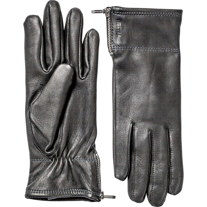 Hestra Womens Charlene Gloves In Black