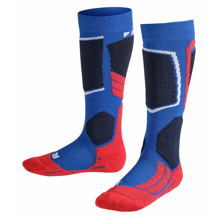 Falke SK2 Kids Ski Socks In Blue