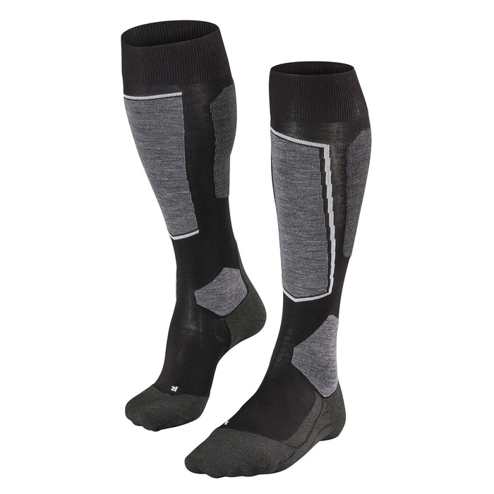 Falke SK6 Mens Ski Socks in Black