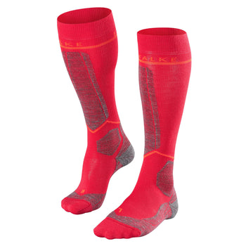 Falke SK Energizing Wool Womens Ski Socks in Rose
