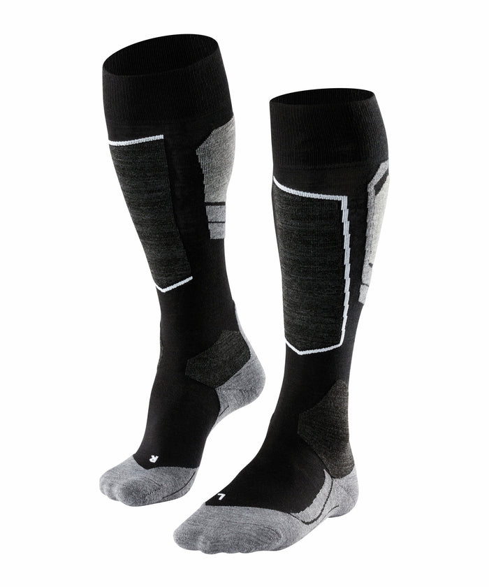Falke SK4 Womens Ski Socks in Black