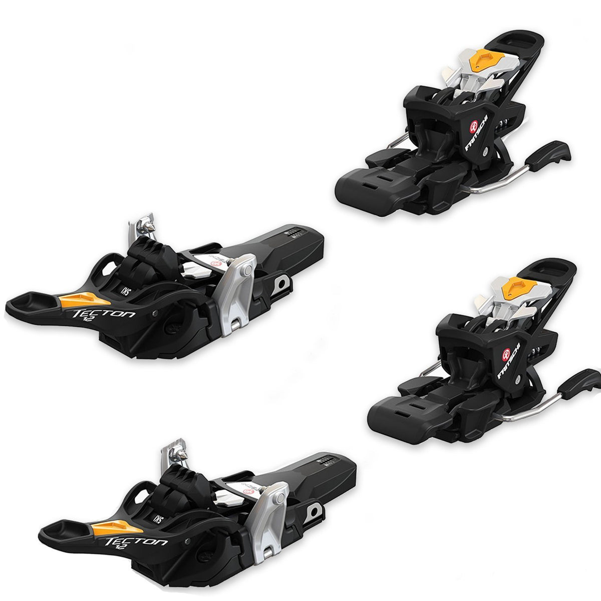 Fritschi Swiss Ski Bindings Fritschi Tecton 12 Ski Touring Binding - 100mm Brake