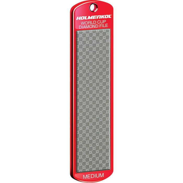 Holmenkol Edge Tools Holmenkol Diamond File World Cup Medium 600 Grit (Red)