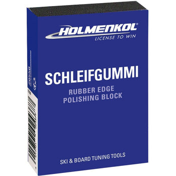 Holmenkol Edge Tools Holmenkol Gummy Stone Rubber Edge Polishing and Deburring Block - Schleif Gummi