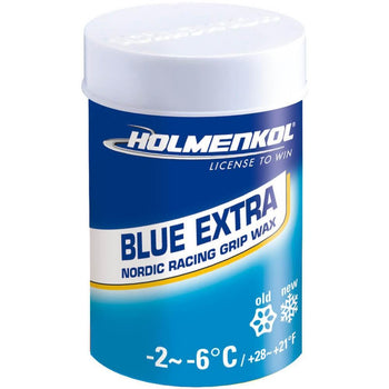 Holmenkol Wax Holmenkol Blue Extra Grip Wax for XC Nordic Skis