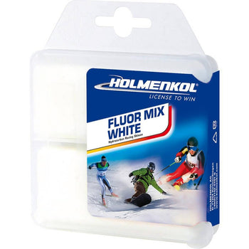 Holmenkol Wax Holmenkol Fluormix White Performance Ski Wax with Fluorocarbon 2x35g