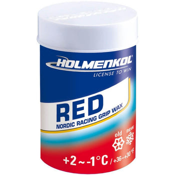 Holmenkol Wax Holmenkol Grip Red for Nordic XC Skis