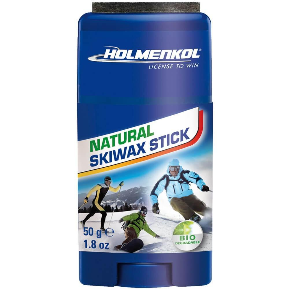 Holmenkol Wax Holmenkol Natural Skiwax Stick Universal Ski and Snowboard Wax