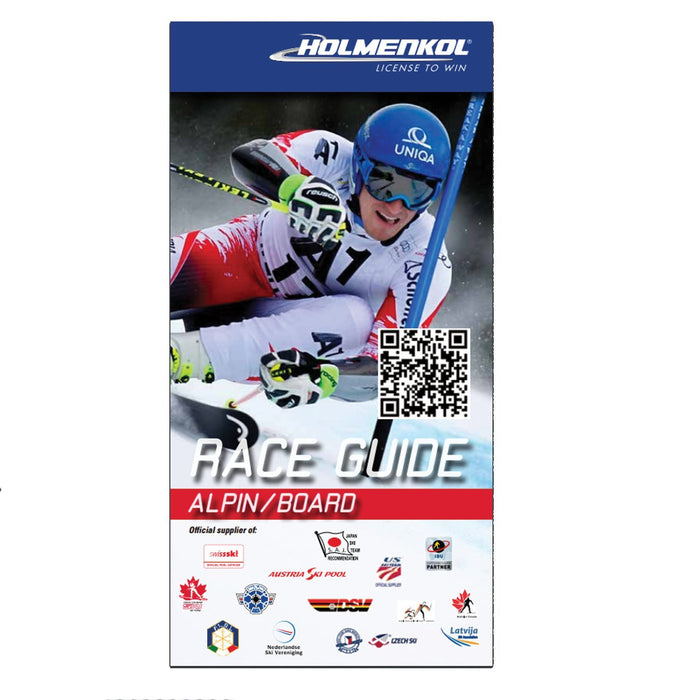 Holmenkol Wax Holmenkol Race Guide Ski & Snowboard Waxing and Tuning Guide - English