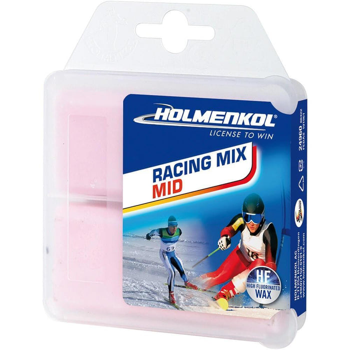 Holmenkol Wax Holmenkol Racing Mix MID Ski Racing Wax 2x35g Sticks