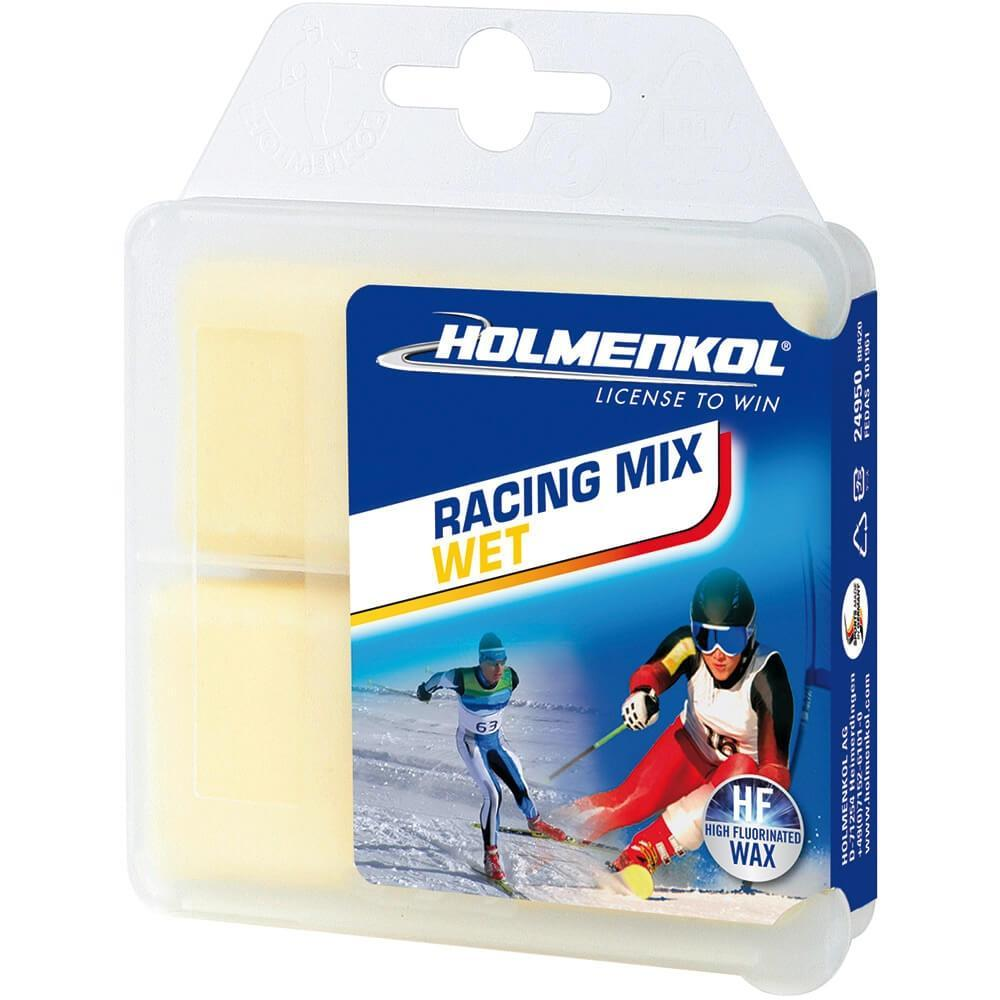 Holmenkol Wax Holmenkol Racing Mix WET Ski Racing Wax 2x35g Sticks