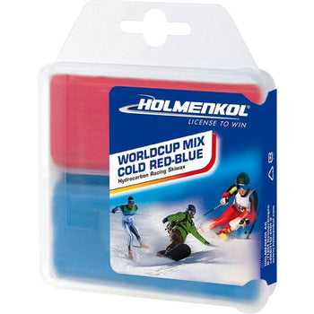 Holmenkol Wax Holmenkol Wax World Cup Mix COLD Red Iron On Ski & Snowboard Wax 2x35g