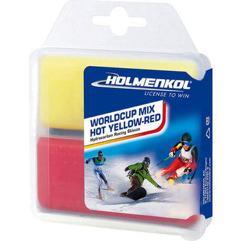 Holmenkol Wax Holmenkol Wax World Cup Mix HOT Iron On Ski & Snowboard Wax 2x35g