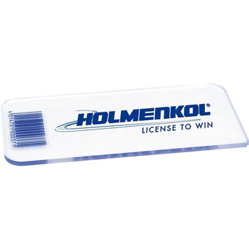 Holmenkol Waxing Tools Holmenkol Wax Scraper 3mm Perspex for Ski and Snowboard