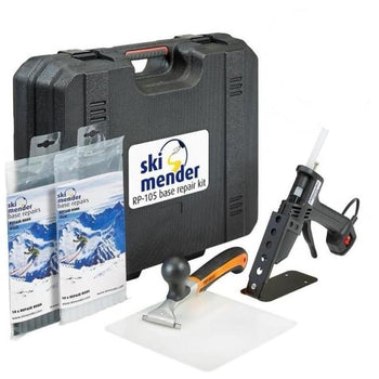 SkiMender Base Repair Ski Mender RP105 Ski & Snowboard Base Repair Kit with Storage Case