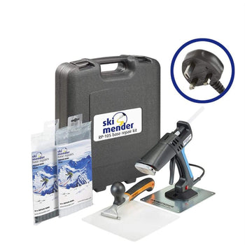 SkiMender Base Repair Ski Mender RP360 Ski and Snowboard Base Advanced Repair Kit - UK Plug