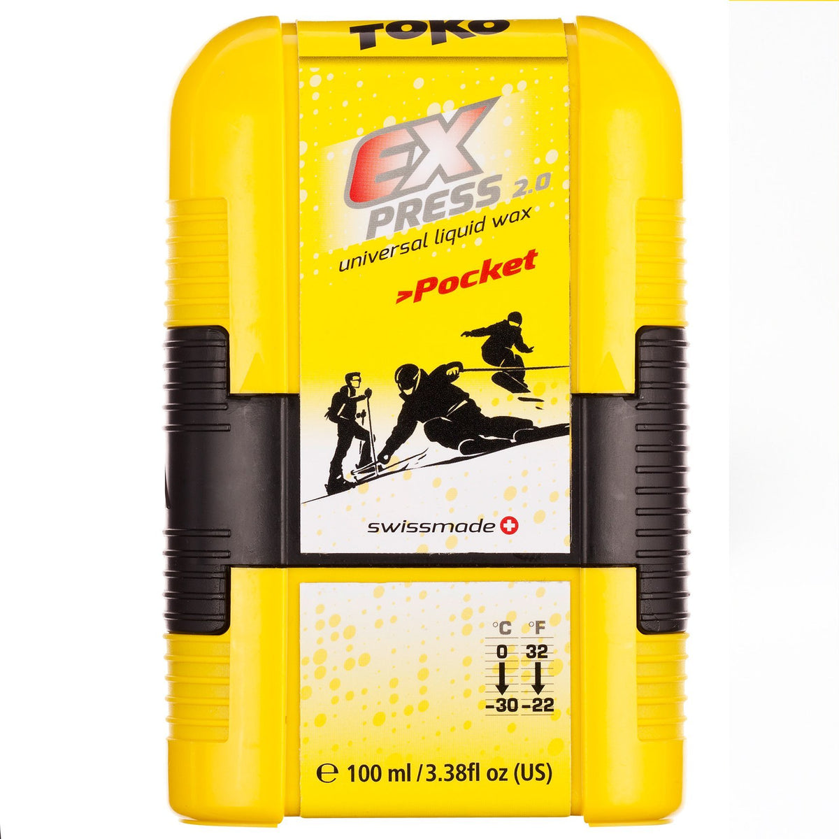 Toko Wax Toko Express Pocket Universal Ski & Snowboard Liquid Rub on Wax 100ml