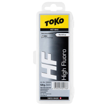 Toko Wax Toko HF High Fluoro Hot Wax Black Base Prep and Additive - 120g