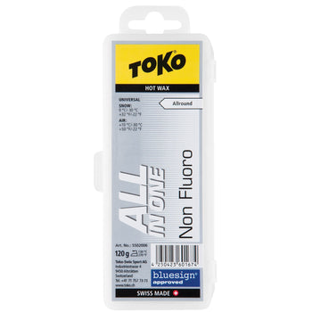 Toko Wax Toko NF All In One Ski and Snowboard Wax - 120g Block