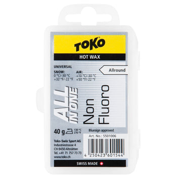 Toko Wax Toko NF All In One Ski and Snowboard Wax - 40G Block