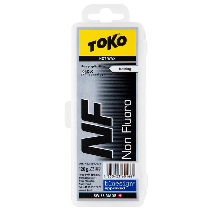 Toko Wax Toko NF Non Fluoro Hot Wax Black Base Prep and Additive - 120g