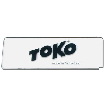 Toko Waxing Tools Toko Premium Plexi Blade 5mm Ski and Snowboard Wax Scraper