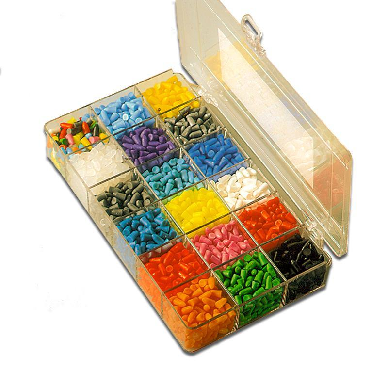 Wintersteiger Ski Binding Hole Plugs Ski Binding Hole Plug Kit Box - 3,000 plugs In 18 Mixed Colours