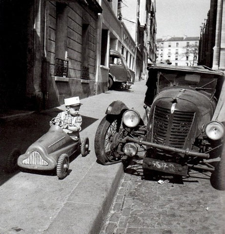 Photo Doisneau Bolides