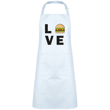 Tablier Bavette - Love hamburger - Inshinytee