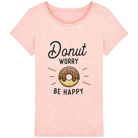 T-shirt Femme - Donut worry be happy - Inshinytee