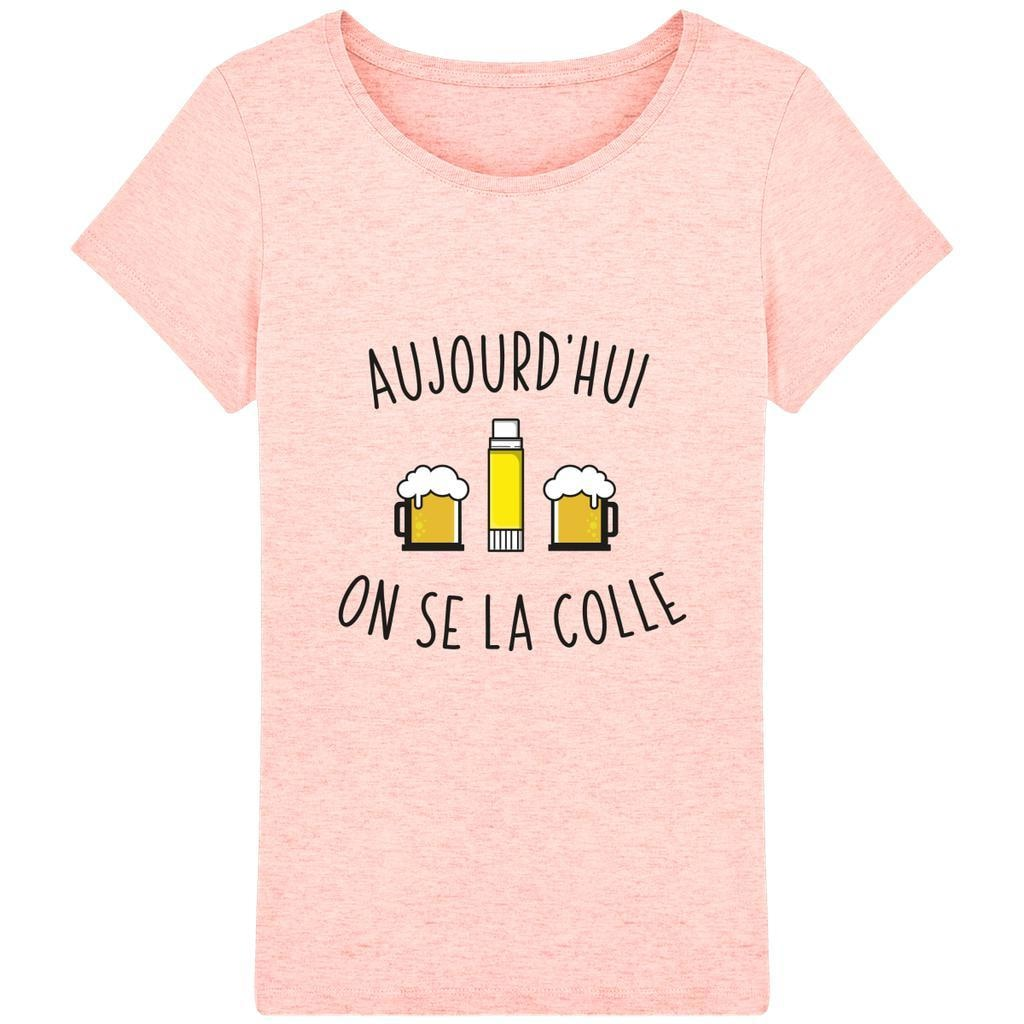 T-shirt Femme - Aujourd'hui on se la colle - Inshinytee