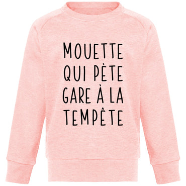 Sweat Enfant - Mouette qui pète - Inshinytee