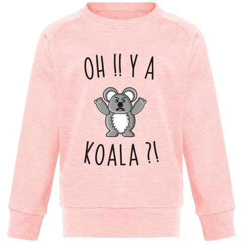 Sweat Enfant - Oh y a koala - Inshinytee