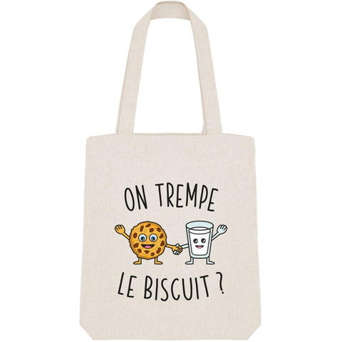 Tote Bag - On trempe le biscuit - Inshinytee