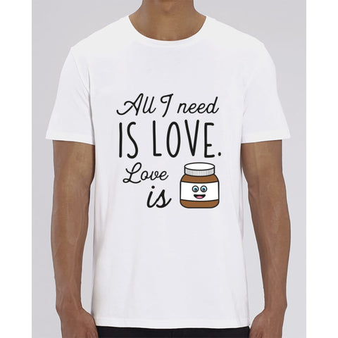 T-Shirt Homme - All I need is love - White / XXS - Homme>Tee-shirts