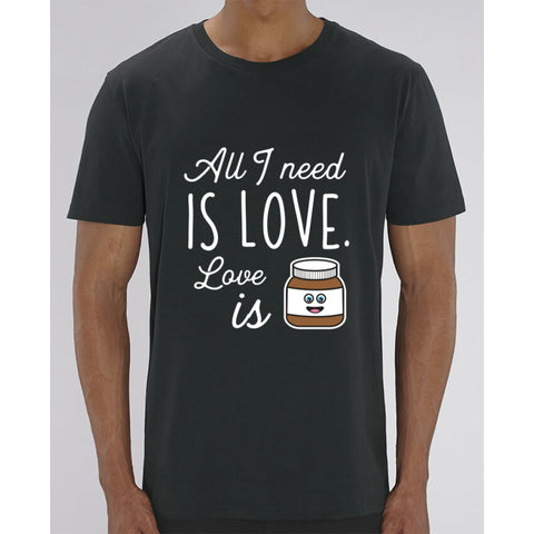 T-Shirt Homme - All I need is love - Black / XXS - Homme>Tee-shirts