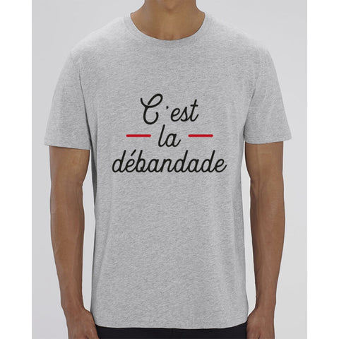 T-Shirt Homme - Cest la débandade - Heather Grey / XXS - Homme>Tee-shirts