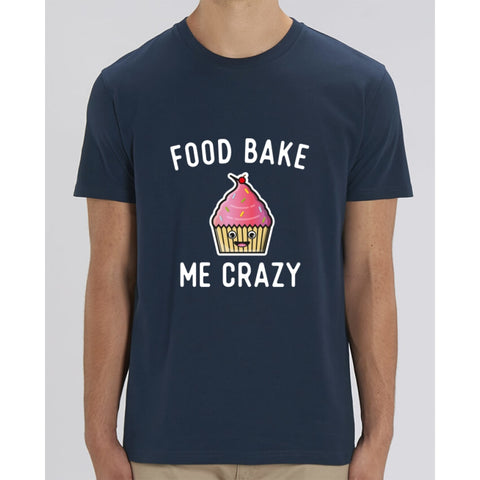 T-Shirt Homme - Food bake me crazy - French Navy / XXS - Homme>Tee-shirts