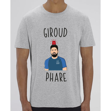T-Shirt Homme - Giroud Phare - Heather Grey / XXS - Homme>Tee-shirts