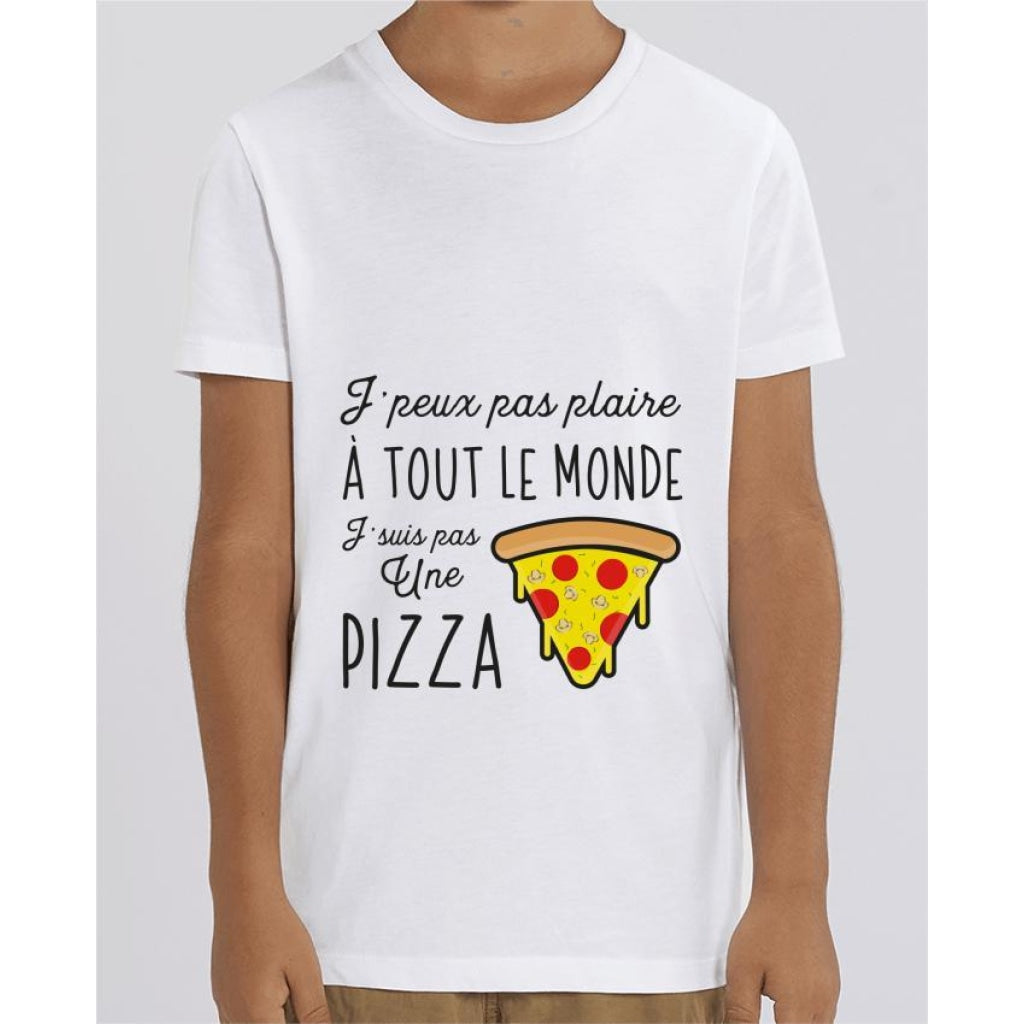 T-shirt Fille - Pizza - White / 3/4 ans - Enfant & Bébé>T-shirts