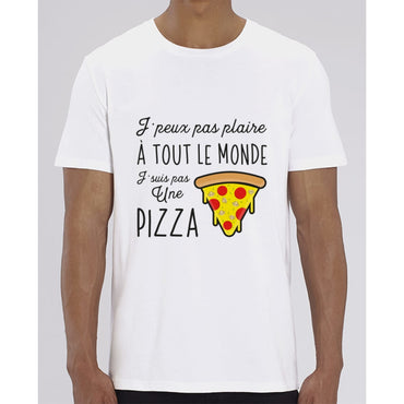 T-Shirt Homme - Pizza - White / XXS - Homme>Tee-shirts