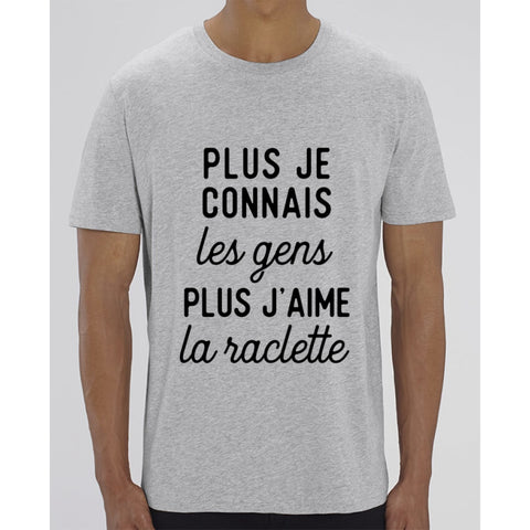 T-Shirt Homme - Raclette - Heather Grey / XXS - Homme>Tee-shirts