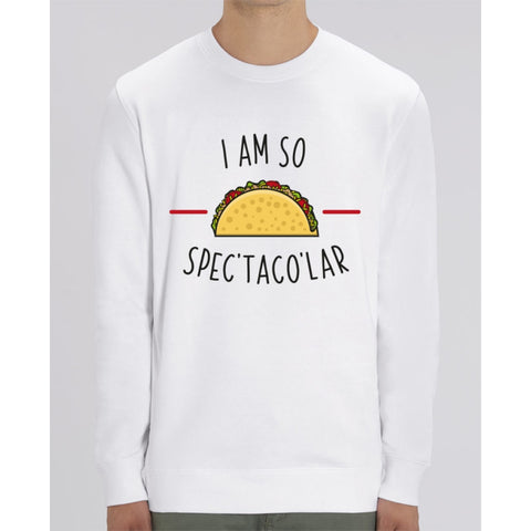 Sweat Unisexe - I am so spectacolar - White / XS - Unisexe>Sweatshirts