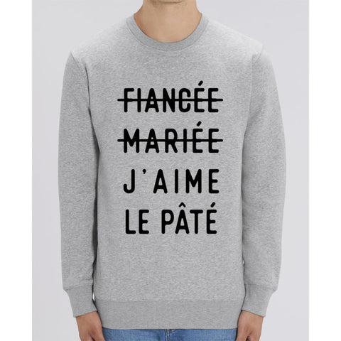 Sweat Unisexe - Jaime le pâté - Heather Grey / XXS - Unisexe>Sweatshirts