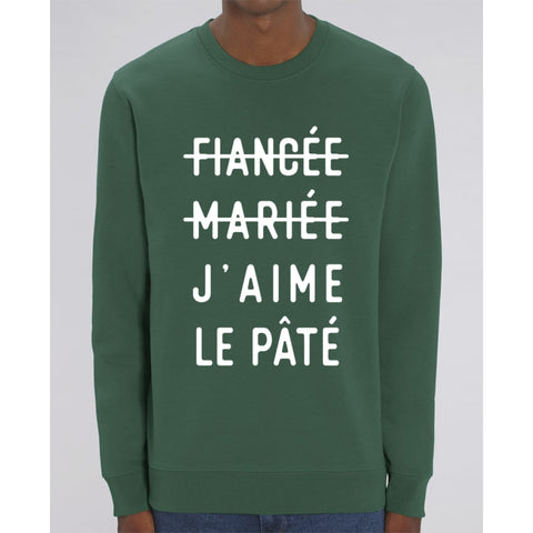 Sweat Unisexe - Jaime le pâté - Bottle Green / XS - Unisexe>Sweatshirts